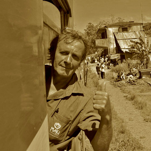 Luc Babin agent de voyage à Mada expéditions